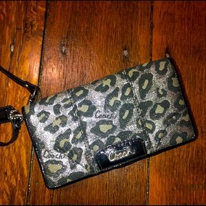 CHEETAH COACH WALLET